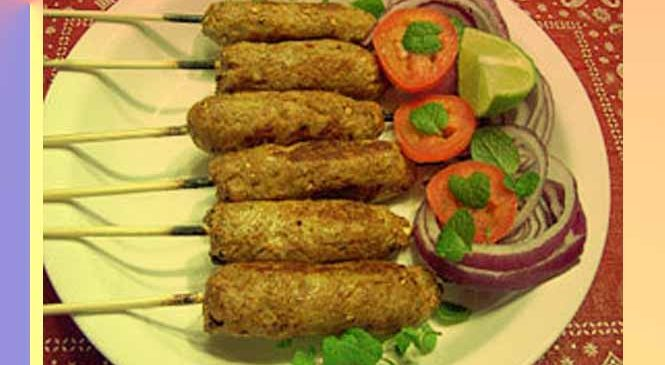 बेसन में लिपटे दही के वेज जायकेदार कबाब