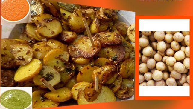 फ्राइड मसाला बेबी पोटैटो – Fried masala baby potato recipe