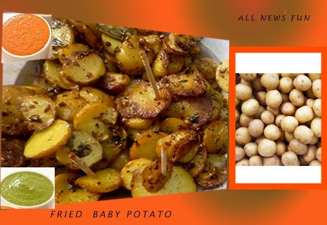 fried masala baby potato recipe