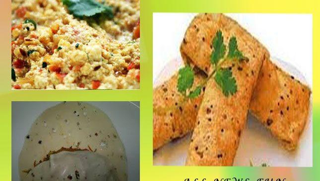 क्रिस्पी पनीर पापड़ रोल – papad recipe in hindi