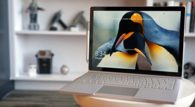 Surface Book i7 is special and as yet blasting quick